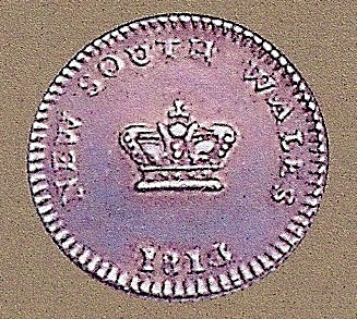 Dump - New South Wales - Pépin valant 15 pence