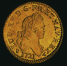 Louis d'or, 1721