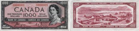 1954-1000-dollars