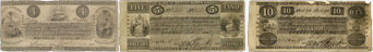 Billets de la banque de la Bank of British North America de 1841
