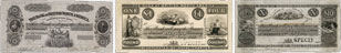 Billets de la banque de la Bank of British North America de 1853