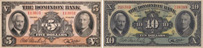 Billets de la Dominion Bank de 1938