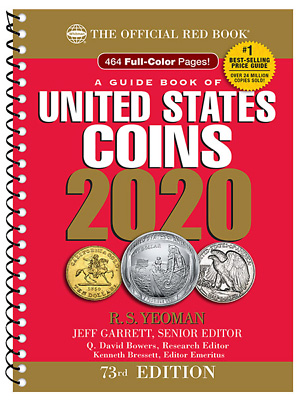 2020 Red Book - Price Guide of U.S. Coins