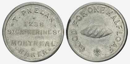 Jacques Cartier House - 1 cent 1915 - Aluminium