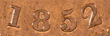 Bank of Upper Canada - 1 penny 1852 - 2 étroit