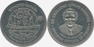 Winnipeg - Red River Dollar - 1979
