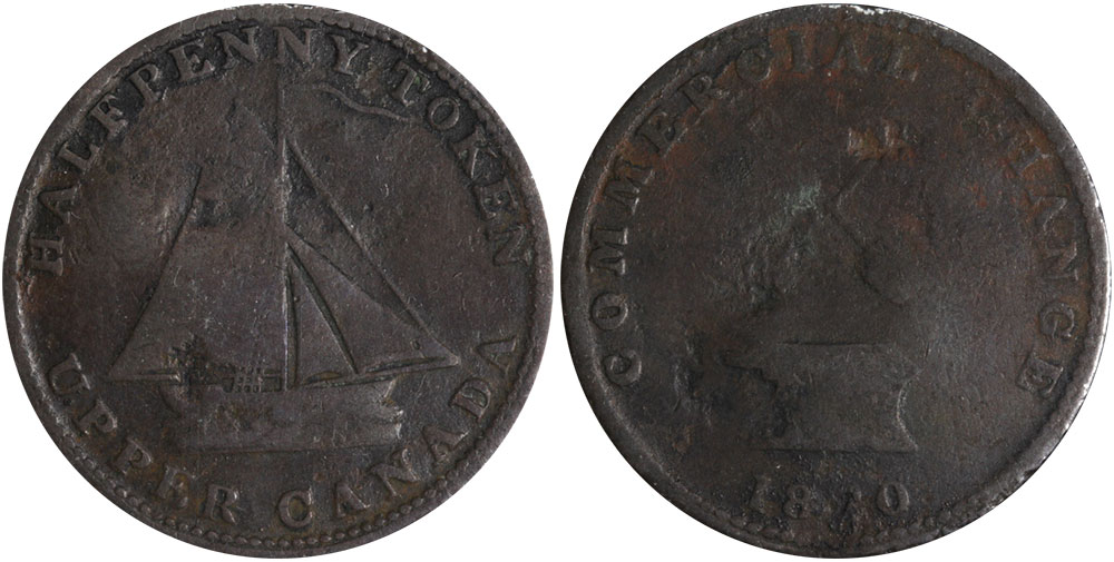 G-4 - Commercial Change - 1/2 penny 1820