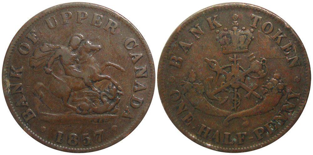 G-4 - 1/2 penny 1857