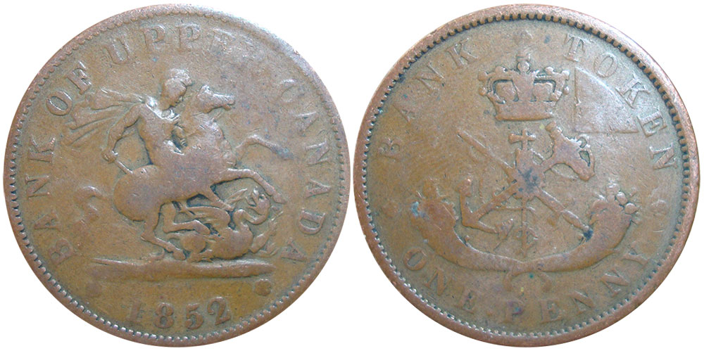 G-4 - 1 penny 1852