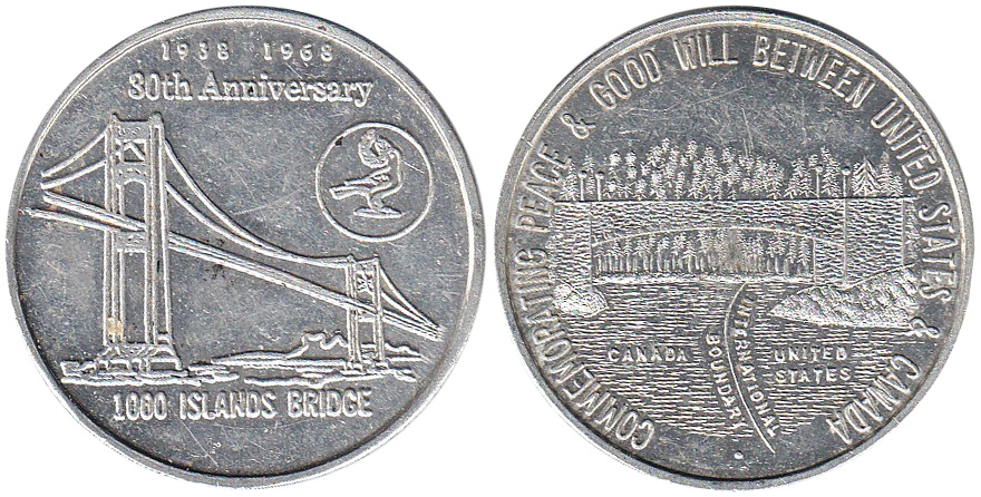 1000 Islands Bridge - 1938-1968