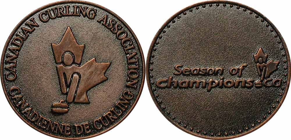 Association canadienne de curling - Médaille