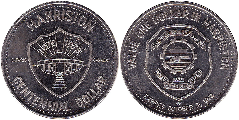 Harriston - Centennial Dollar