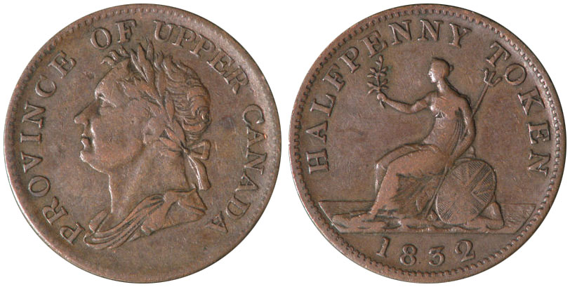 John Walker & Co. - 1/2 penny 1832