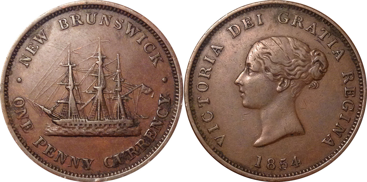 Provincial Government - 1 penny 1854