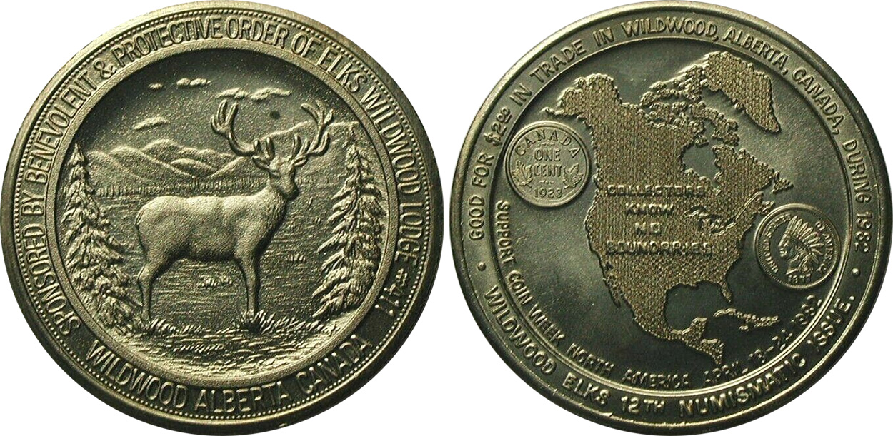 Wildwood Elks - Coin Week North America