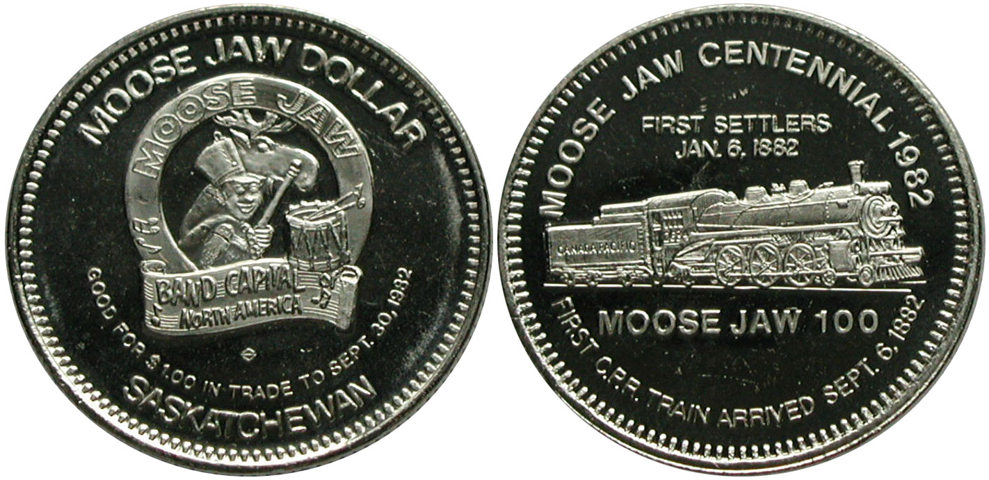 Moose Jaw - Trade Dollar