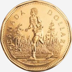 1 dollar 2005 - Terry Fox