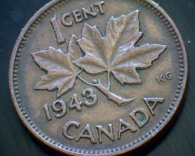 Is A 1943 Canadian Penny Worth Anything