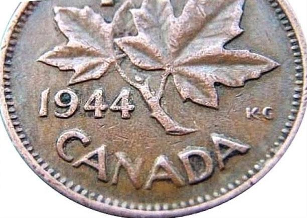 Canadian coins of 1944 - Exscudo token zalando 01
