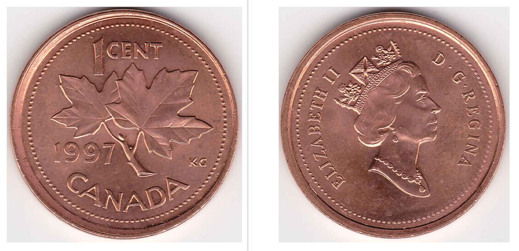 Coins And Canada 1 Cent 1977 Canadian Coins Price Guide Value Errors And Varieties