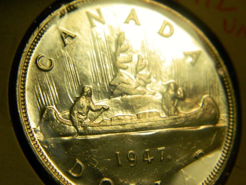 Coins And Canada 1 Dollar 1953 Canadian Coins Price