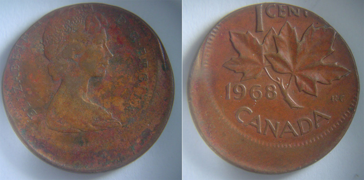 Coins And Canada 1 Cent 1968 Canadian Coins Price Guide And Values