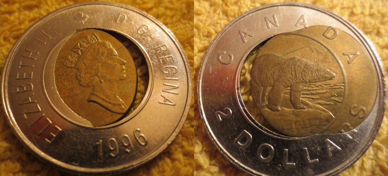 2 dollar coin value canadian