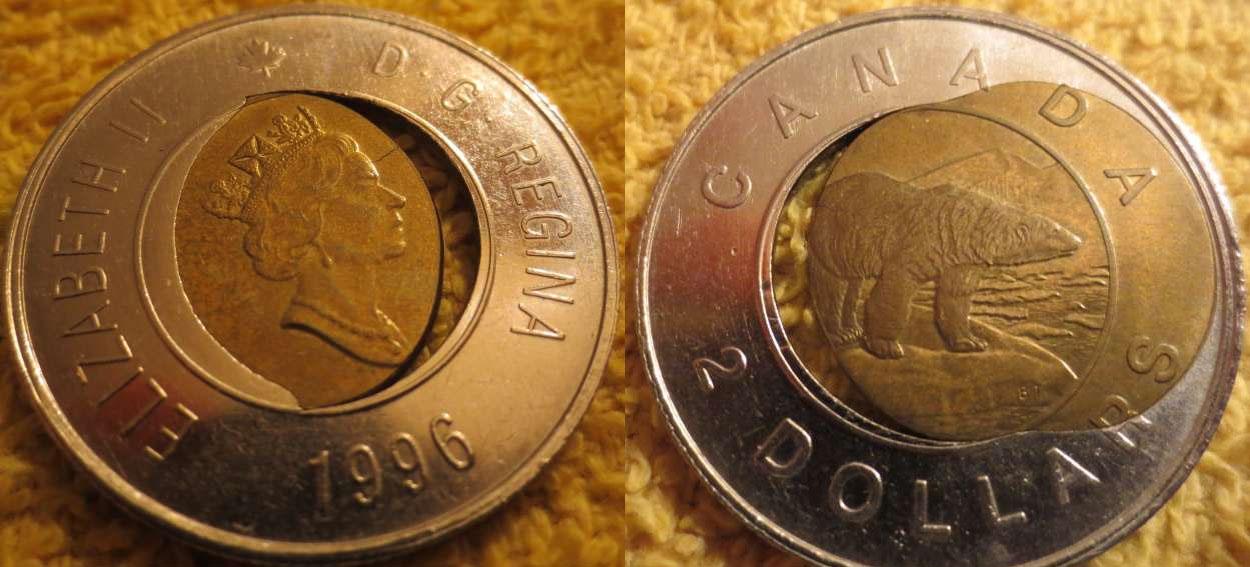2 dollar coin value canadian