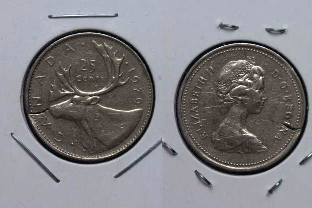 Coins And Canada 25 Cents 1979 Canadian Coins Price Guide And Values