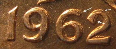 Coin doublé - Doubled die