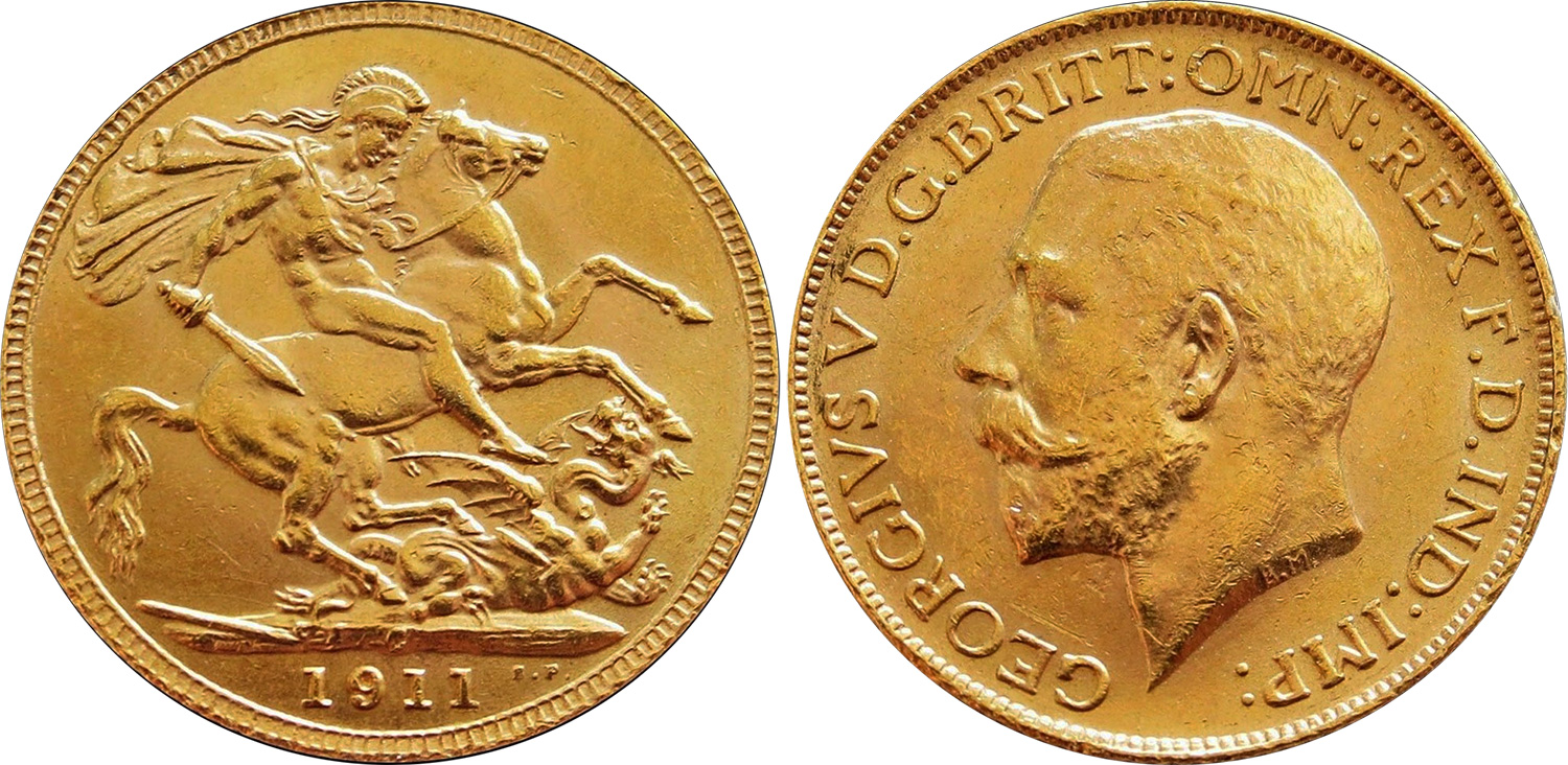 Gold Sovereign 1911