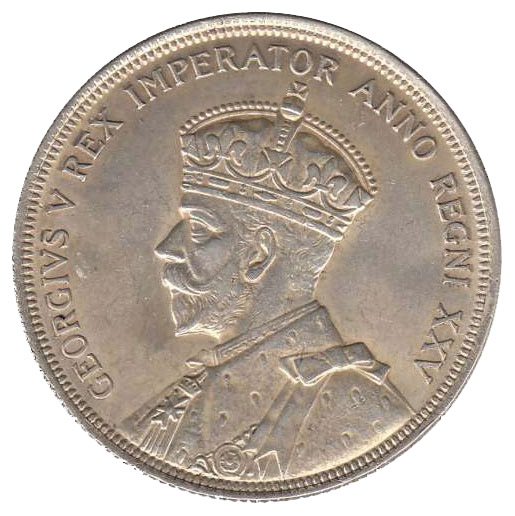 EF-40 - 1 dollar 1935 et 1936 - George V