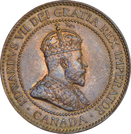 MS-60 - 1 cent 1902 à 1910 - Edward VII