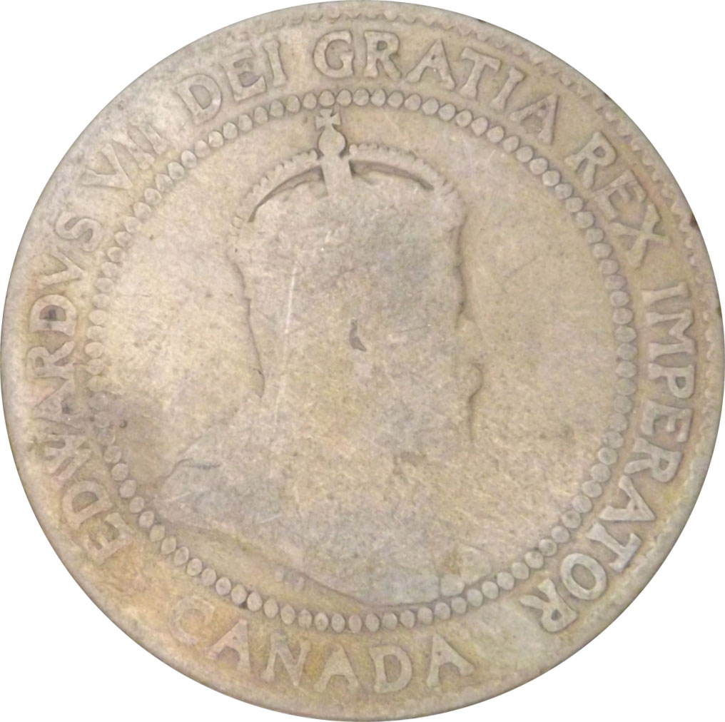 AG-3 - 1 cent 1902 à 1910 - Edward VII