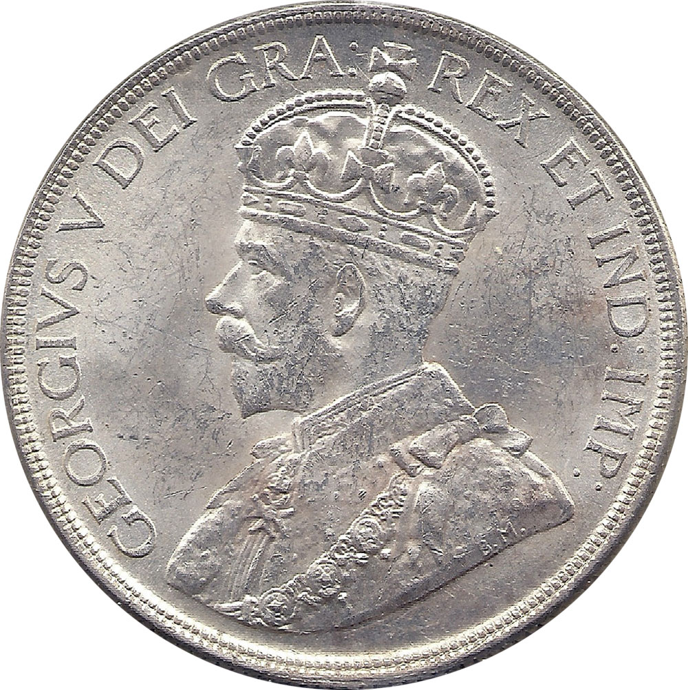 MS-60 - 1 dollar 1935 et 1936 - George V