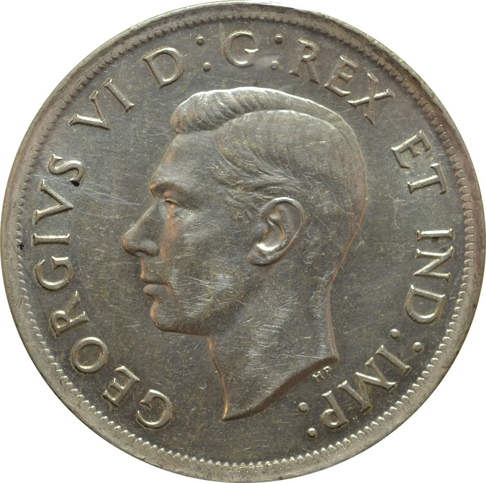 EF-40 - 1 dollar 1937 à 1952 - George VI