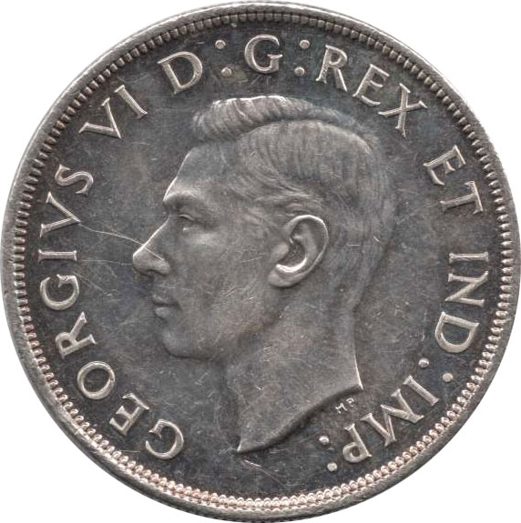 VF-20 - 1 dollar 1937 à 1952 - George VI