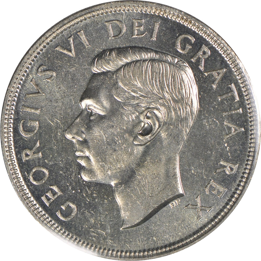 MS-60 - 1 dollar 1937 à 1952 - George VI