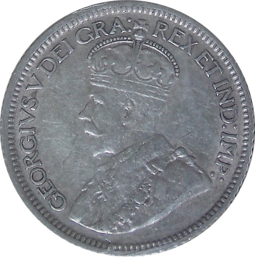 VF-20 - 10 cents 1911 à 1936 - Georges V