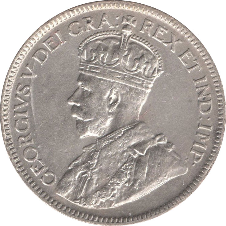 EF-40 - 25 cents 1911 à 1936 - George V