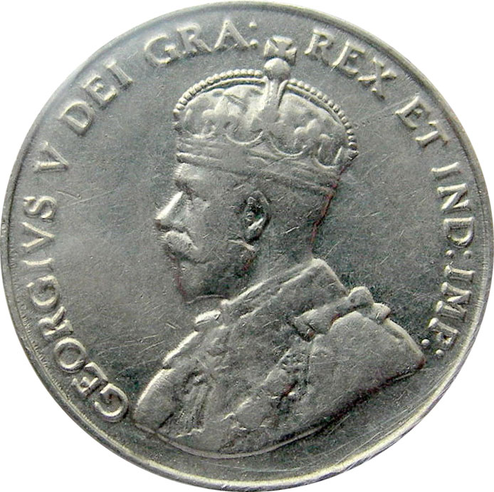 VF-20 - 5 cents 1911 à 1936 - George V