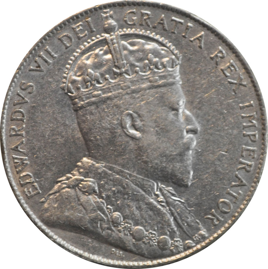 EF-40 - 50 cents 1902 à 1910 - Edward VII