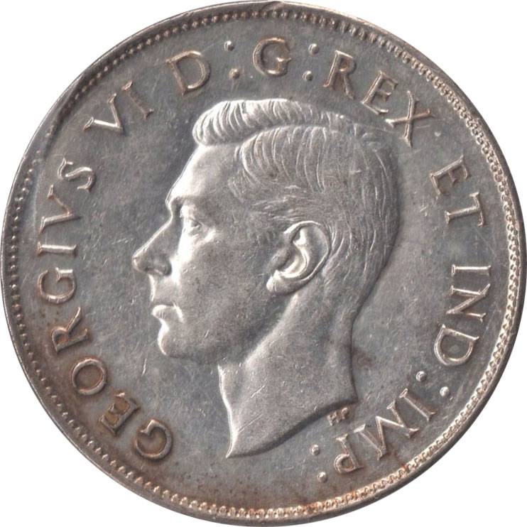 EF-40 - 50 cents 1937 à 1952 - George VI