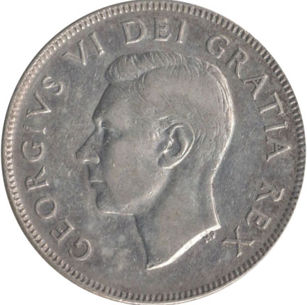 VF-20 - 50 cents 1937 à 1952 - George VI