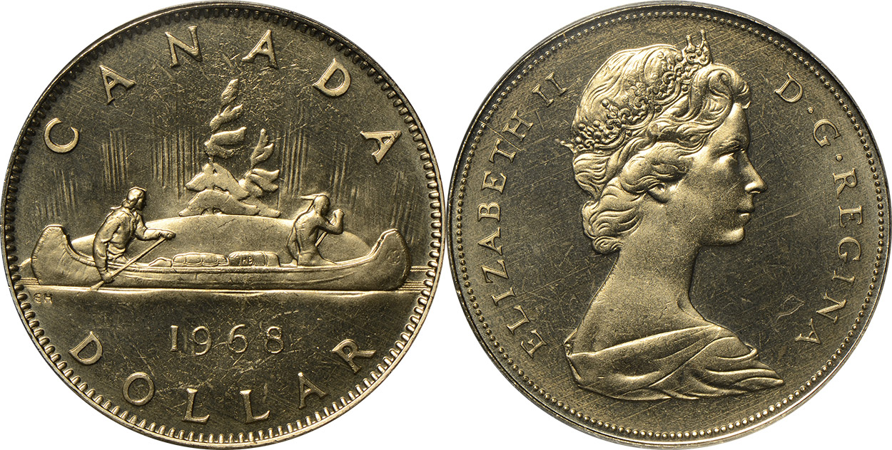 Coins And Canada 1 Dollar 1975 Canadian Coins Price