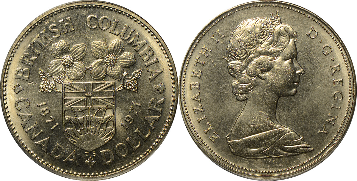 Coins and Canada - 1 dollar 1971 - Canadian coins price ...