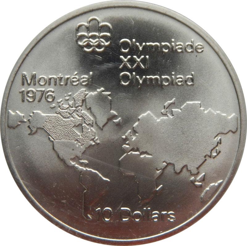 Numicanada Valeur Des Pièces De Monnaie Olympiques De Montréal