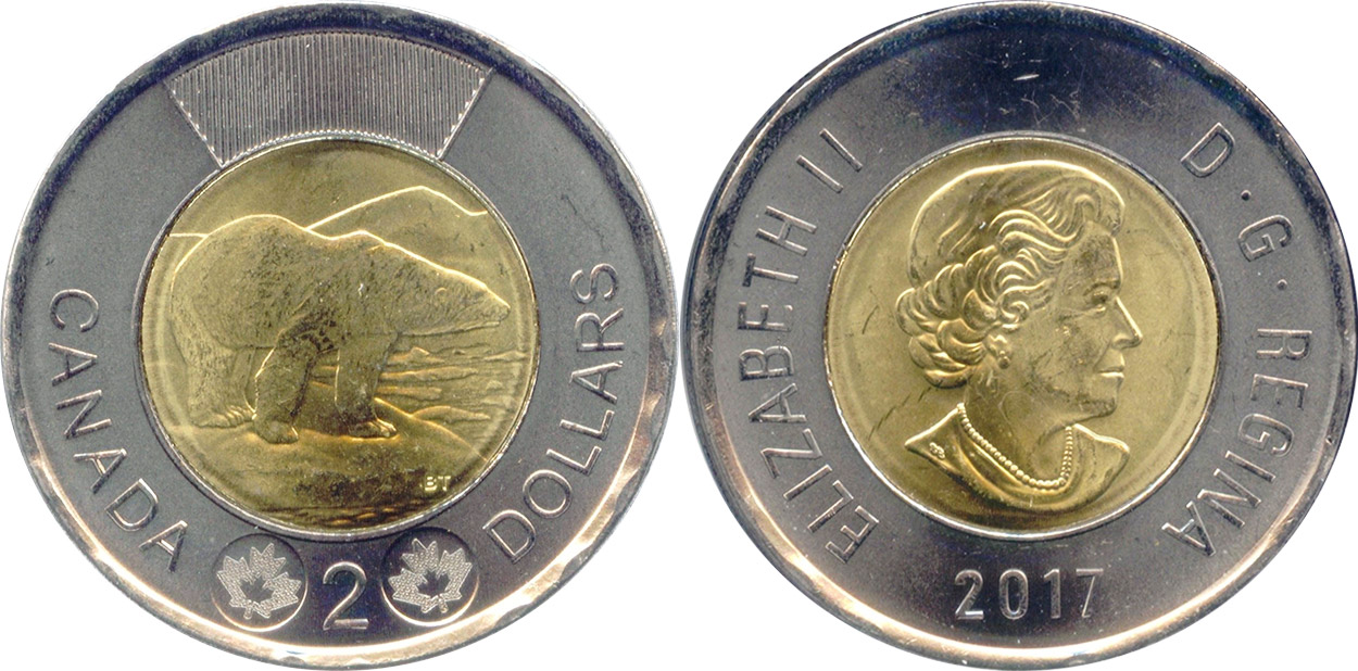 2 Dollars 2017