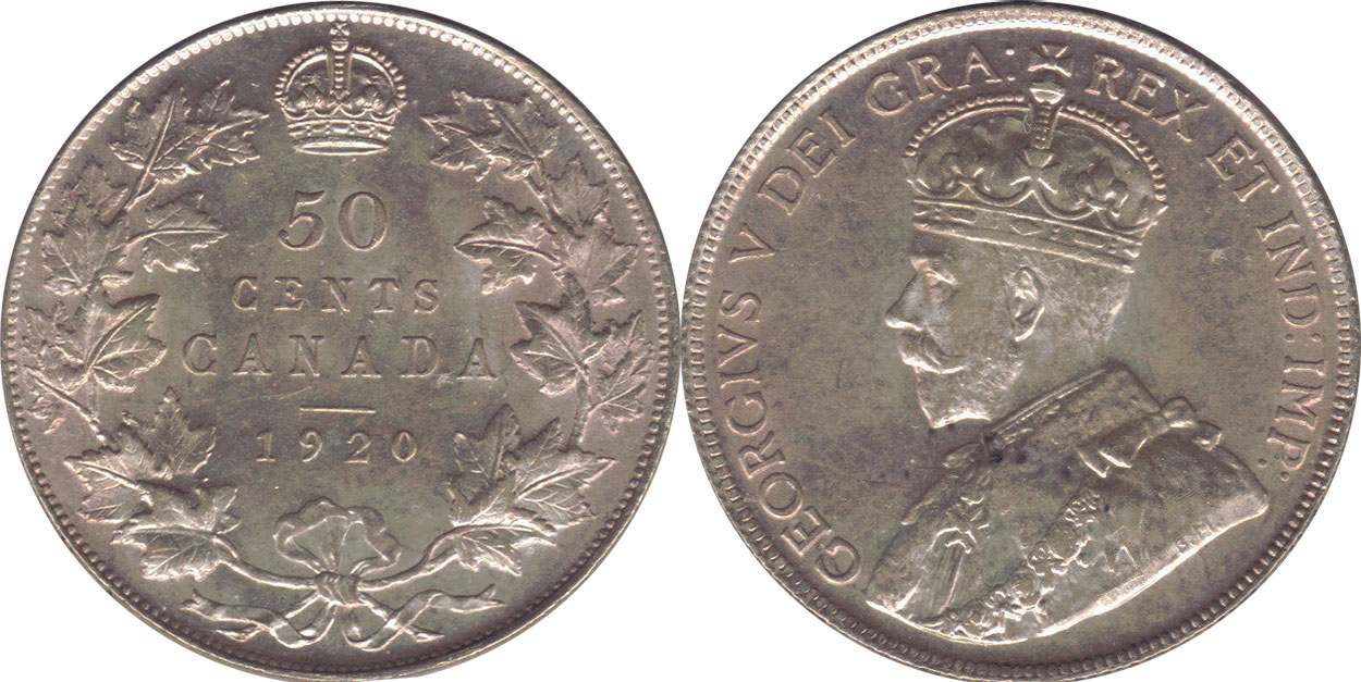 50 cents 1921